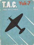 Table Air Combat: Yak-7