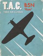 Table Air Combat: B5N Kate