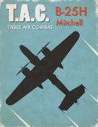 Table Air Combat: B-25H