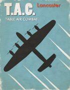 Table Air Combat: Lancaster