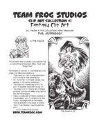 Team Frog Studios Clip Art Col. #1: Fantasy