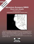 GMAS - Classic Lairs Sample