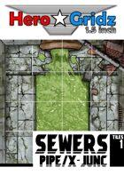 HeroGridz - Sewers - Pipe/Cross-Junction
