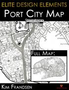 Elite Design Elements: Coldwharf Port City Map