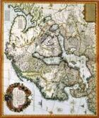 Antique Maps VII - Sweden of the 1600's