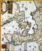 Antique Maps XII - The Kingdom of Denmark of the 1600's
