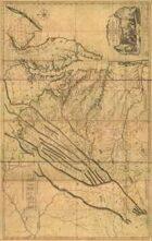 Antique Maps IXX - Virginia of the 1700's