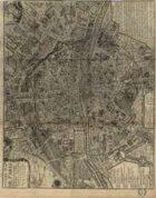 Antique Maps XXIV - Paris of the 1700's