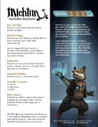 Michtim for the Starfinder Roleplaying Game