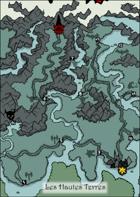 Les Hautes Terres (FR) - Map for Zweihander RPG