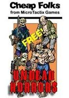 FREE! Cheap Folks UNDEAD Cardstock Figures