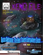 Xeno File Issue 2: Dyson Alehouse (Starfinder)