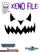 Xeno File Issue 3: Halloween edition (Starfinder/PFRPG)