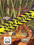 Art of War: Sneak Preview