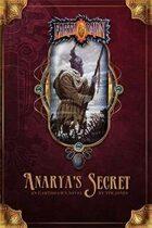 Anarya's Secret: An Earthdawn Novel