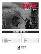 2WW: The War in Europe (Includes Vassal Module)