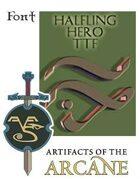 AOTA-TTF - Halfling Hero Font