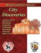 City Discoveries (5e)