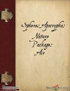 Spheres Apocrypha: Nature Package: Air