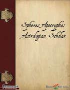 Spheres Apocrypha: Astrologian Scholar Archetype
