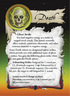Ultimate Spheres Cards: Death