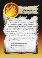 Ultimate Spheres Cards: Destruction