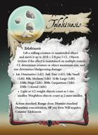 Ultimate Spheres Cards: Telekinesis
