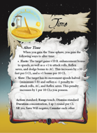 Ultimate Spheres Cards: Time