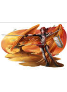 Armorist - Fighter Wizard RPG Stock Art