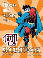Evil Inc Sourcebook Vol 1