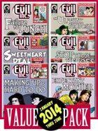 Evil Inc Monthly: Jan-June 2014 [BUNDLE]