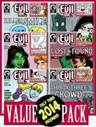 Evil Inc Monthly: July-Dec. 2014 [BUNDLE]