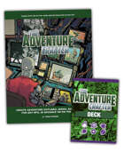 The Adventure Crafter printed deck and pdf book [BUNDLE]
