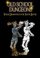 Your drawings for you book : ZOMBIE