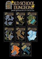 Old School Dungeons : 757 Tiles