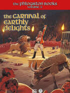 The Phlogiston Books Vol. III: The Carnival of Earthly Delights - English