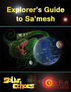Solar Echoes: Explorer's Guide to Sa'mesh