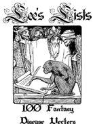 100 Fantasy Disease Vectors