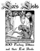 100 Fantasy Villains and their Evil Deeds