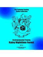Pro RPG Audio: Rainy Nighttime Forest