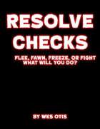 Resolve Checks