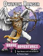 Brave Adventures - Owlfolk Ranger FREE