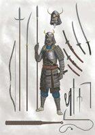 Lema's Stock Art #7: Japanese Medieval Equipment 1