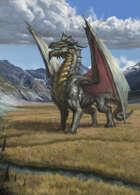 "Lema Stockart #38: Coverart ""Silver Dragon"""