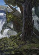 "Lema Stockart #39: Coverart ""Forest Dragon"""