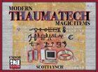 Thaumatech: Modern Magic Items
