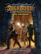 SagaBorn Roleplaying Game Core Rulebook (Print)
