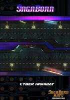 Map - Cyberpunk Highway (52x25)