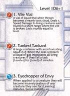 1. Vile Vial - Custom Card