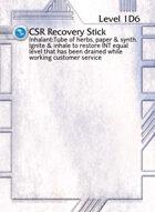 Csr Recovery Stick - Custom Card